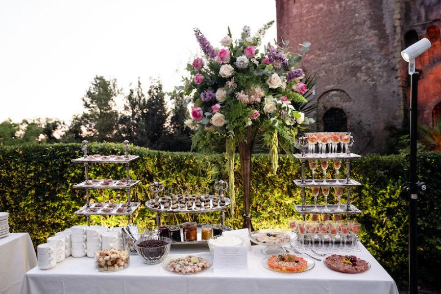 Il buffet per il tuo matrimonio: una scelta stilistica che richiede qualche attenzione pratica