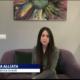 Diletta Alliata intervistata dal TG5